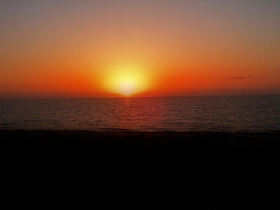 sundown on tx shores